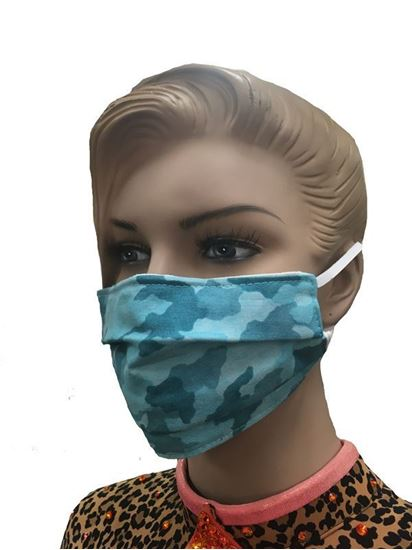 COVID-19 Coronavirus Fashion Face Mask Winter Camouflage