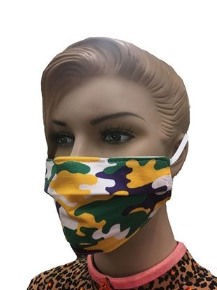 COVID-19 Coronavirus Fashion Face Mask Mardi Gras