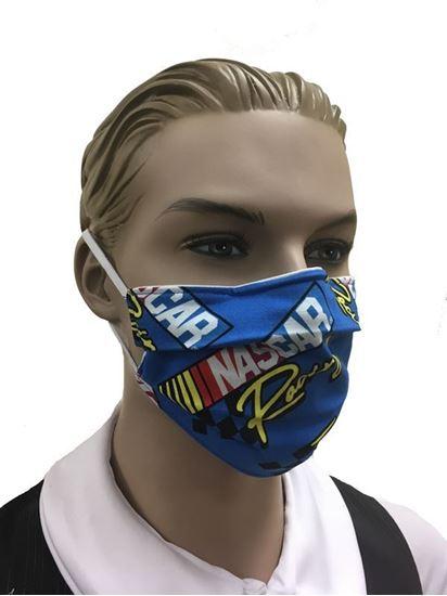 COVID-19 Coronavirus Fashion Face Mask NASCAR Racing
