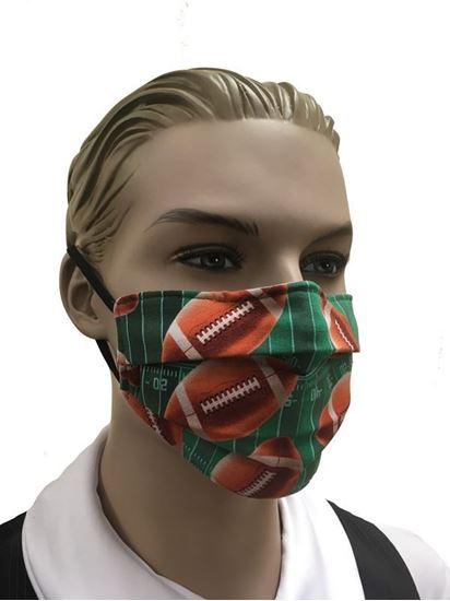 COVID-19 Coronavirus Fashion Face Mask Touchdown