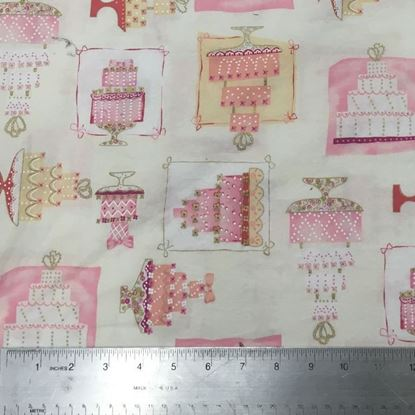 Birthday Cake (100% Cotton Fabric) Houston