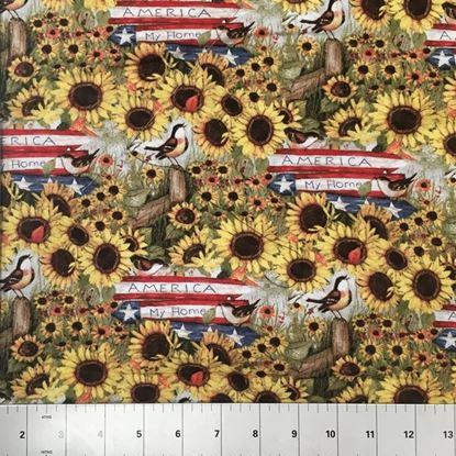 America My Home (100% Cotton Fabric)