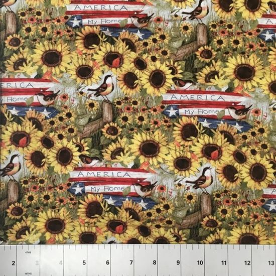America My Home (100% Cotton Fabric)