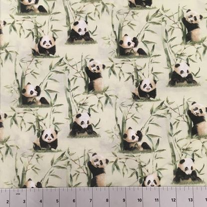 Pandas In the Wild (100% Cotton Fabric)