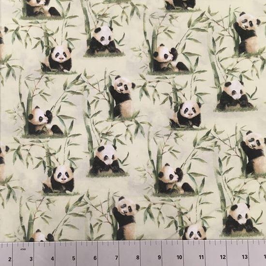 Pandas In the Wild (100% Cotton Fabric)