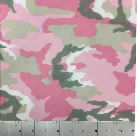 Pink Camouflage (Poly Cotton Fabric) in Houston