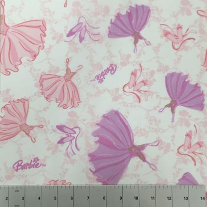 Barbie Ballerina  (Poly Cotton Fabric) in Houston