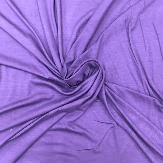 Purple Rain (Stretch Cotton Knits Fabric) in Houston