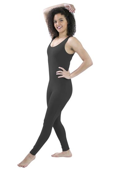 Adult Black Tank Unitard in Houston and Sugarland